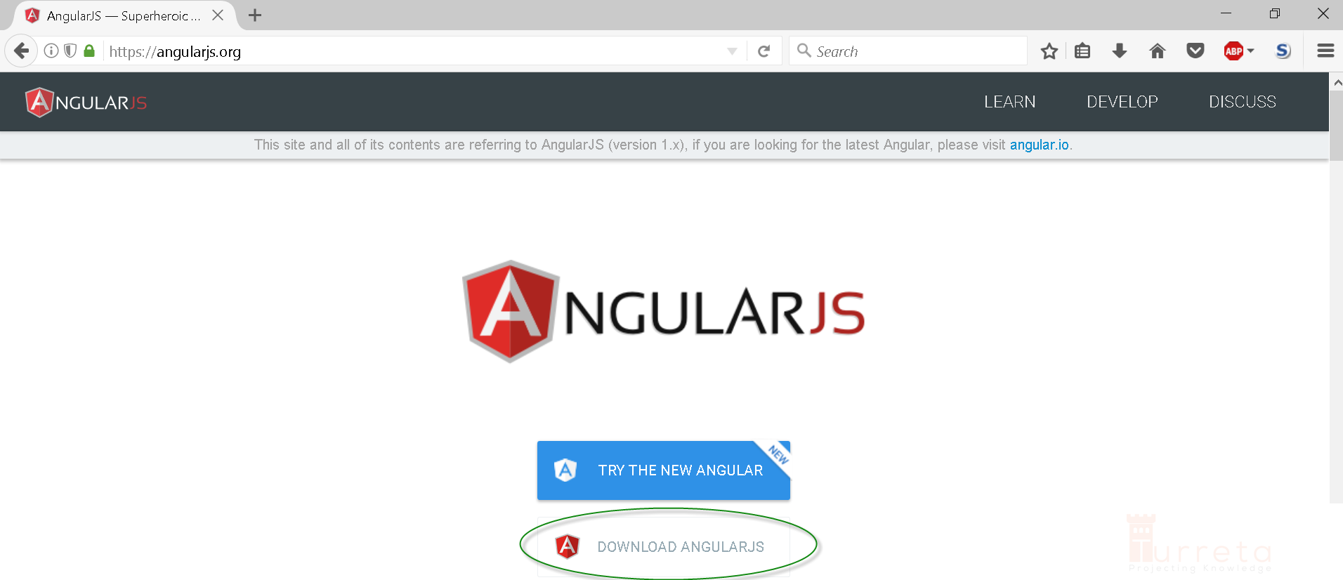 Your first proper angularjs application turreta go to httpsangularjs and click the download angularjs button baditri Choice Image