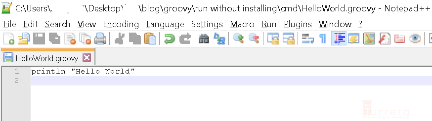 Run Groovy Without Installing On Windows