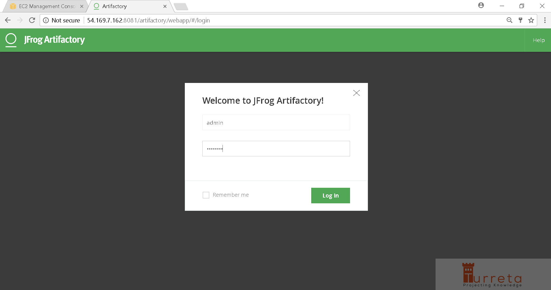 Install Artifactory in Red Hat Enterprise Linux and AWS EC2