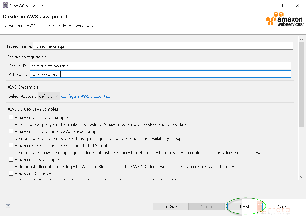 Java - Using Amazon Simple Queue Service (AWS SQS) - Turreta com