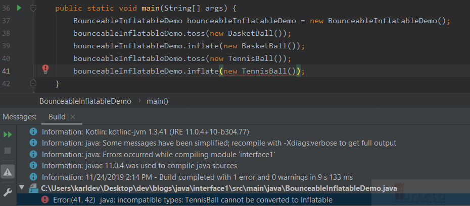 """""""Function Accepts Struct That Implements A Trait"""" in Java"""